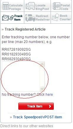 How to Track Your Order On SingPost