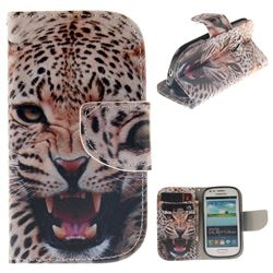 Puma PU Leather Wallet Case for Samsung Galaxy S3 Mini i8190