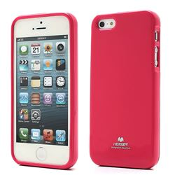 Mercury Goospery Jelly TPU Cover for iPhone 5s / iPhone 5 - Rose