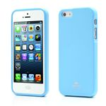 Mercury Goospery Jelly TPU Cover for iPhone 5s / iPhone 5 - Light Blue