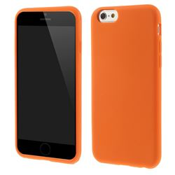 Soft Silicone Case for iPhone 6 6s (4.7 inch) - Orange
