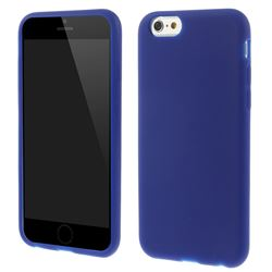 Soft Silicone Case for iPhone 6 6s (4.7 inch) - Dark Blue