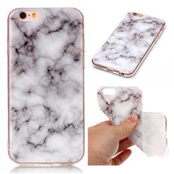 Smoke White Soft TPU Marble Pattern Case for iPhone 6s 6 (4.7 inch)