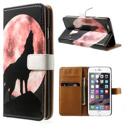 Lead Wolf Leather Wallet Case for iPhone 6 (4.7 inch)
