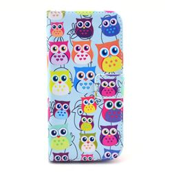 Cute Owls Leather Wallet Case for iPhone 6 (4.7 inch)