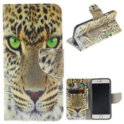 Yellow Tiger PU Leather Wallet Case for iPhone 6s 6 6G(4.7 inch)