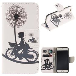 Cycling Dandelion PU Leather Wallet Case for iPhone 6s 6 6G(4.7 inch)