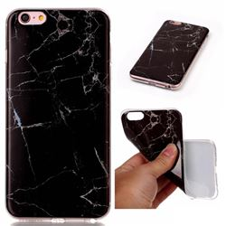 Black Soft TPU Marble Pattern Case for iPhone 6s Plus / 6 Plus (5.5 inch)