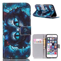 Bobcats Leather Wallet Case for iPhone 6s Plus (5.5 inch)