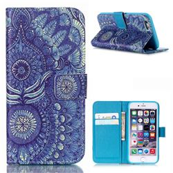 Tribal Leather Wallet Case for iPhone 6s (4.7 inch)