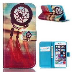Sunset Dream Catcher Leather Wallet Case for iPhone 6s (4.7 inch)