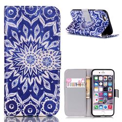 Mandala Flower Leather Wallet Case for iPhone 6s (4.7 inch)