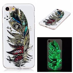 Feather Tribe Noctilucent Soft TPU Back Cover for iPhone 7 (4.7 inch)