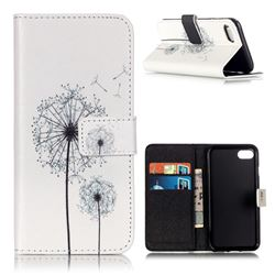 Dandelion Leather Wallet Case for iPhone 7 (4.7 inch)
