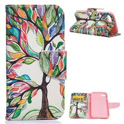 The Tree of Life Leather Wallet Case for iPhone 7 (4.7 inch)