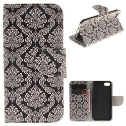 Totem Flowers PU Leather Wallet Case for iPhone 7 7G(4.7 inch)