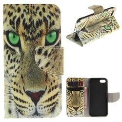 Yellow Tiger PU Leather Wallet Case for iPhone 7 7G(4.7 inch)