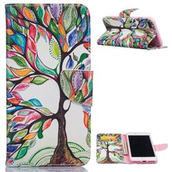 The Tree of Life Leather Wallet Case for iPhone 7 Plus (5.5 inch)