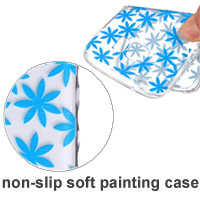 Non-slip Painting TPU Phone Covers